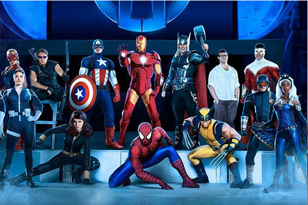 Marvel Universe Live in Detroit