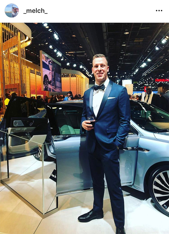 Matt Melchior at Auto Prom 2019