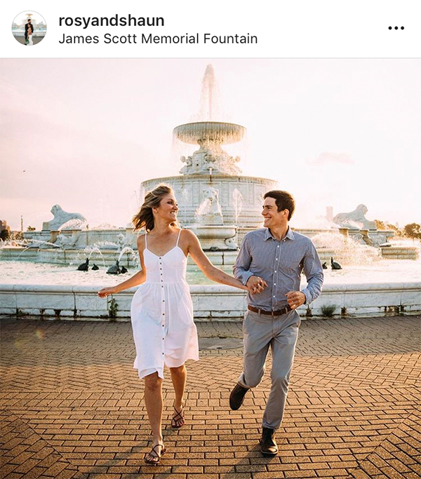 Metro Detroit engagement photo spots