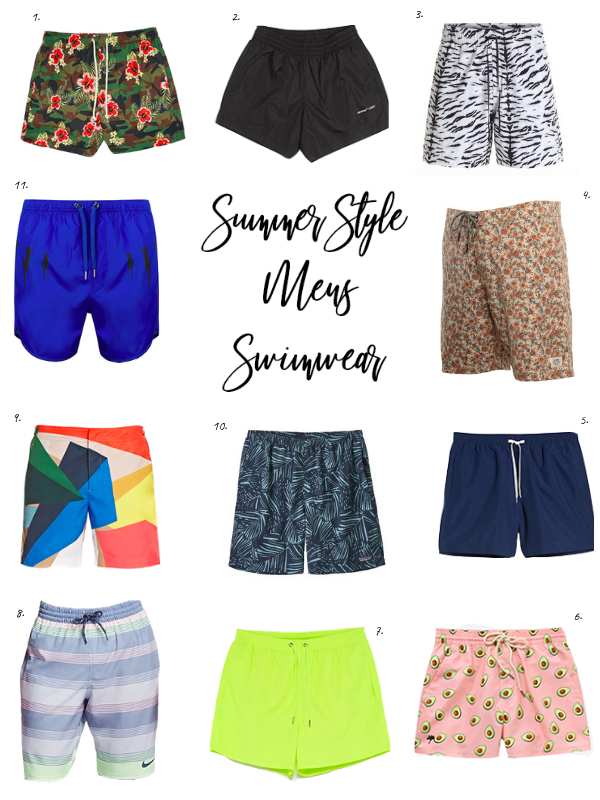 ea27d593c1 Posey surf trunk, $62, Untied On Woodward 5. Solid slim fit volley swim  trunks, $49.50, Nordstrom 6. Avocado swim shorts, $85, OAS ...