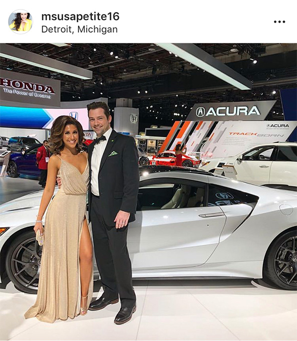 Ms. USA Petite, Jacki Graham at Auto Prom 2019