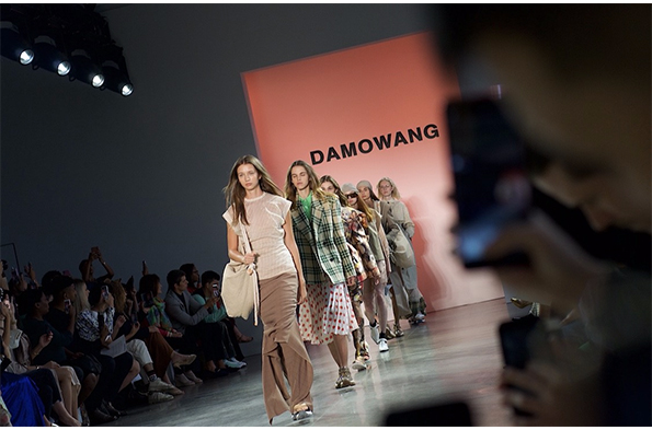 Damowang at New York Fashion Week