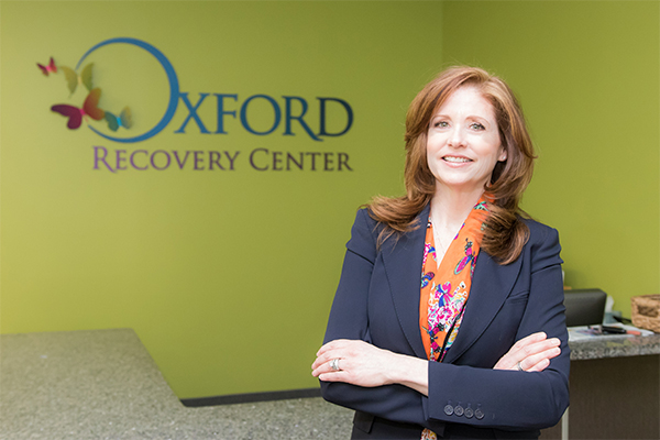 Dr. Tami Peterson, founder of Oxford Recovery Center