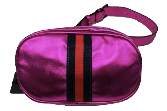 metallic pink belt bag from 110 Couture