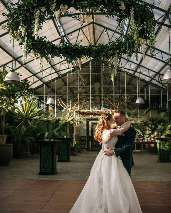 Planterra Conservatory wedding