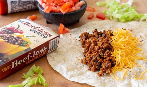 Trader Joe's Beef-less Ground Beef