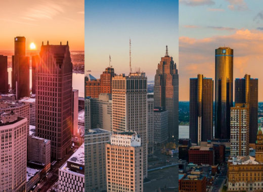 Detroit skyline photos