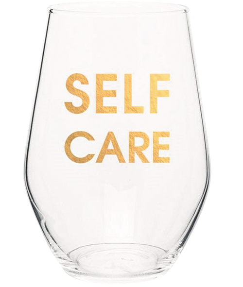 Self care wine tumbler from Talulah Belle