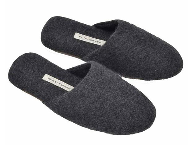White + Warren Cashmere Slippers from Paula and Chlo