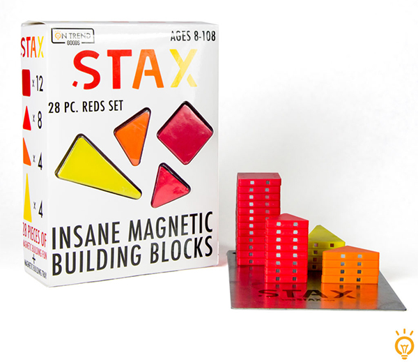 Stax magnetic building blocks from Toyology Toys