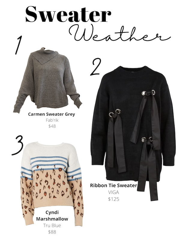 fall sweater trends