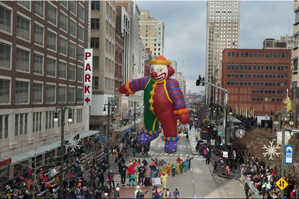 America's Thanksgiving Day Parade in Detroit