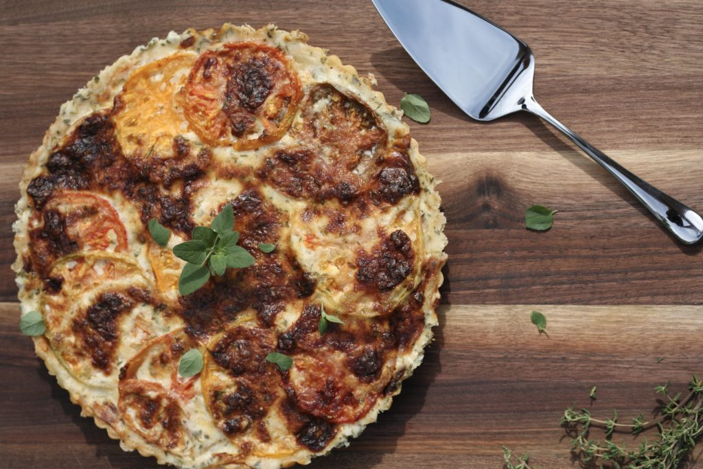 Sissy Yellen Recipe: Tomato and Mustard Tart