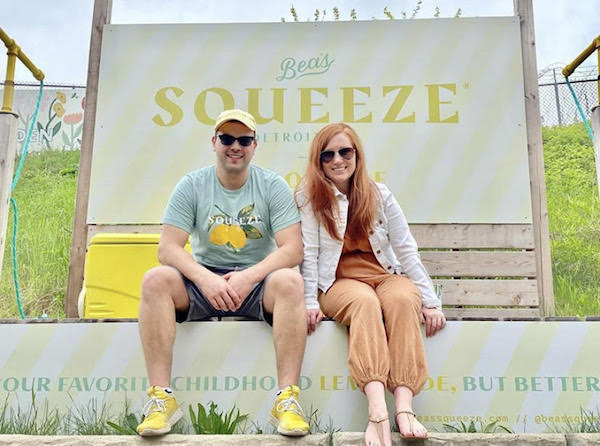 Ian and Beatrice Wolnerman of Bea's Squeeze