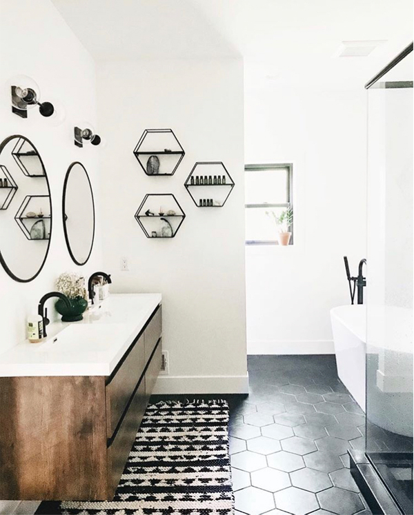 Mid century bathroom inspiration