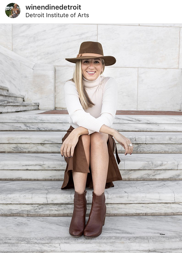 Lyndsey Walworth for SEEN Street Style from November