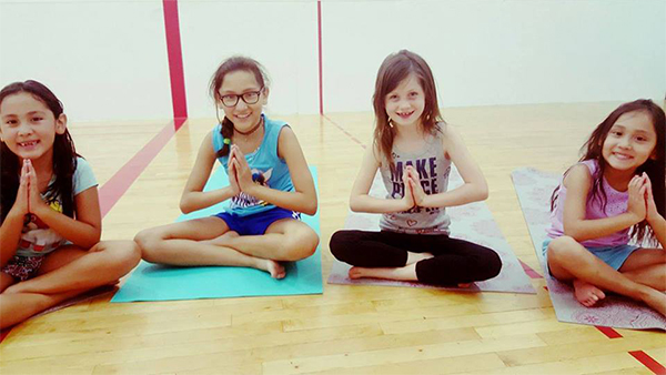 Kids Yoga at Franklin Athletic Center