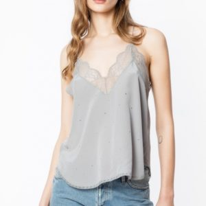 Zadig and Voltaire Christy Strass Camisole